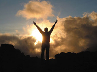 Mt. Kili sunset