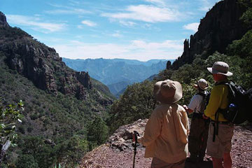 Real Travellers in Copper Canyon, Mexico
