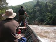 Laos Boatmen