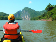 Mekong Kayaking