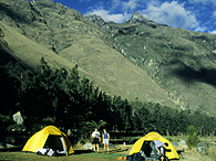 Inca Trail Campsites