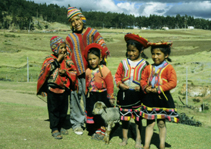 Sacred Valley children