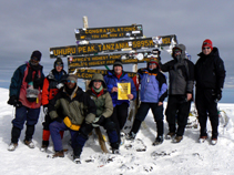 Mt. Kili Summit